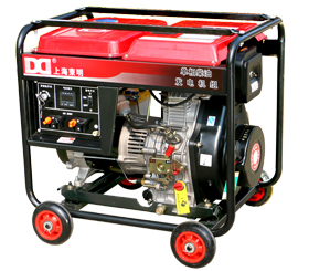 单相5kW柴油发电机 DMD6500LE