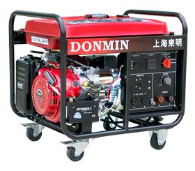 210A单相 电动5KW汽油发电电焊一体机