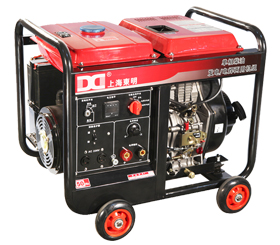 210A单相 5KW柴油发电电焊一体机 SHD210LE