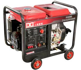 210A 三相 5KW柴油发电电焊一体机SHD210LE/3