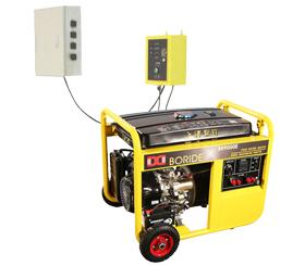 单相7.5kW无人值守ATS小型汽油发电机组BR9000ATS