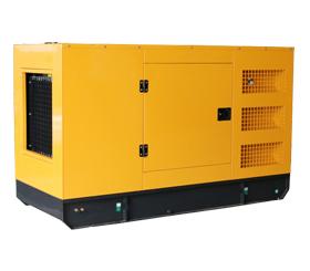 户外工程150KW静音箱型潍坊柴油发电机组