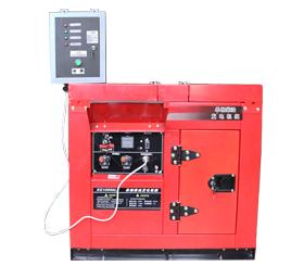 单相8kw无人值守小型静音柴油发电机 SD10000LE