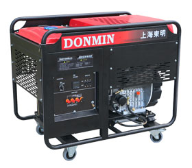 单相15kW柴油发电机 DMD18000LE