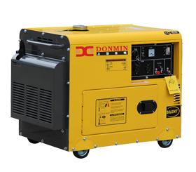 上海东明静音箱型柴油发电机 SD9000LE