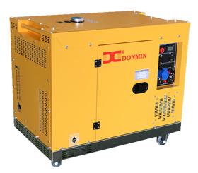 上海东明12kw柴油静音箱型发电机