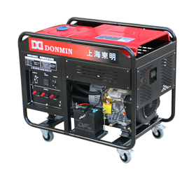 单相10kW柴油发电机  DMD12000LE