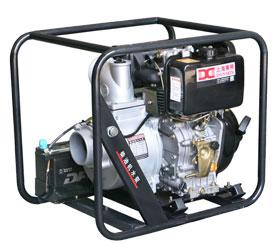 4寸电动柴油动力应急自吸抽水泵-DMD40E