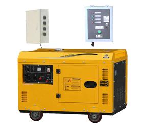 小型静音箱型5kw,8kw,12kw,15kw,30kwATS无人值守柴油发电机组