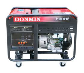 东明单三相20kw国产动力汽油发电机组DMDS22000CXD(国产)