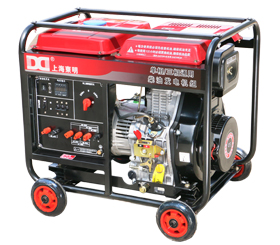 应急单三相5kw小型柴油发电机 DMDS6500LE