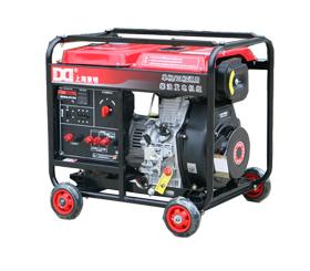 应急单三相6kw小型柴油发电机组DMDS7500LE