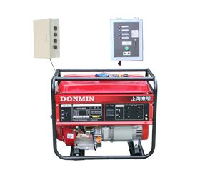 冷链配套单相5kw无人值守ATS汽油发电机组 DM6500CXD(ATS)