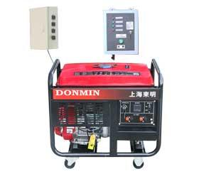 冷链配套单相8kw无人值守ATS汽油发电机 DM10000CXD(ATS)