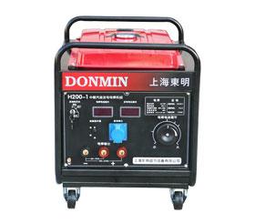 管道焊机氩弧焊野外开架式永磁汽油发电电焊一体机H200-1
