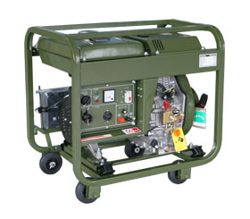 野外训练配套小型3kw柴油发电机组 DMD3500LE-BD