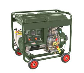 野外训练配套小型5kw柴油发电机组 DMD6500LE-BD