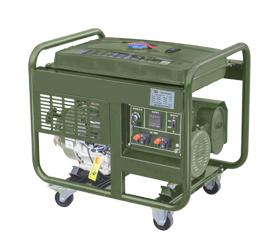 野外训练配套小型8kw汽油发电机组  DM10000CXD-BD
