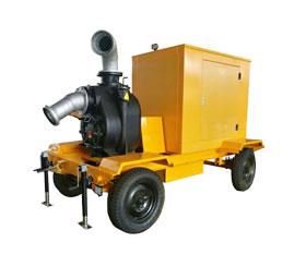 上海东明柴油动力无堵塞污水泵 DMDP80LE